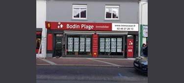 Logo BODIN PLAGE IMMOBILIER